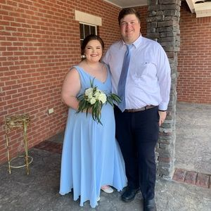 David's Bridal Bridesmaids dress